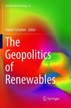 Couverture de l'ouvrage The Geopolitics of Renewables
