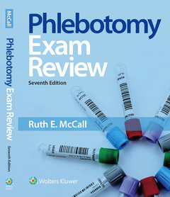Cover of the book Phlebotomy Exam Review