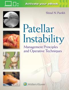 Couverture de l'ouvrage Patellar Instability