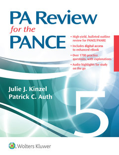Cover of the book PA Review for the PANCE