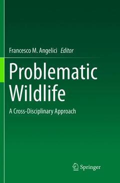 Couverture de l'ouvrage Problematic Wildlife