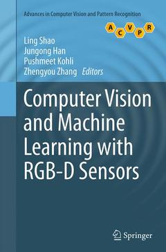 Couverture de l'ouvrage Computer Vision and Machine Learning with RGB-D Sensors