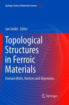 Cover of the book Topological Structures in Ferroic Materials