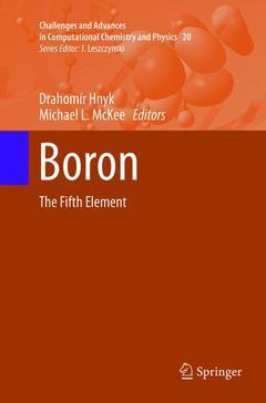Couverture de l'ouvrage Boron
