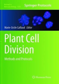 Couverture de l'ouvrage Plant Cell Division