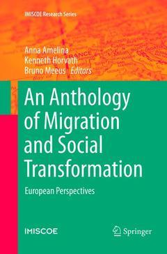 Couverture de l'ouvrage An Anthology of Migration and Social Transformation