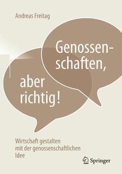 Couverture de l'ouvrage Genossenschaften, aber richtig!