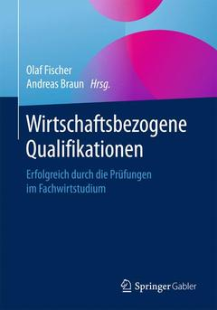 Cover of the book Wirtschaftsbezogene Qualifikationen