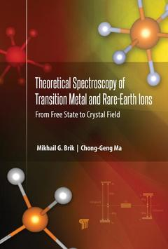 Cover of the book Theoretical Spectroscopy of Transition Metal and Rare Earth Ions