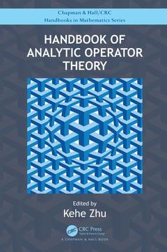 Couverture de l'ouvrage Handbook of Analytic Operator Theory