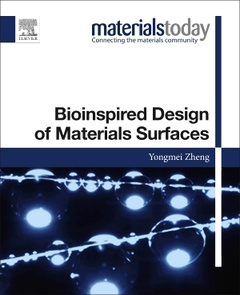 Cover of the book Bioinspired Design of Materials Surfaces