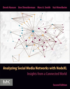 Cover of the book Analyzing Social Media Networks with NodeXL