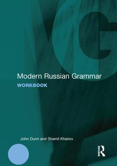 Couverture de l'ouvrage Modern Russian Grammar Workbook