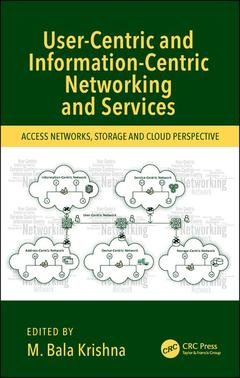 Couverture de l'ouvrage User-Centric and Information-Centric Networking and Services