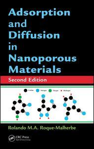 Couverture de l'ouvrage Adsorption and Diffusion in Nanoporous Materials