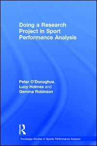 Couverture de l'ouvrage Doing a Research Project in Sport Performance Analysis