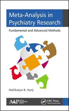 Couverture de l'ouvrage Meta-Analysis in Psychiatry Research