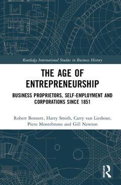 Couverture de l'ouvrage The Age of Entrepreneurship