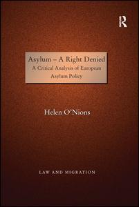 Cover of the book Asylum - A Right Denied