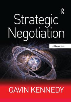 Cover of the book Strategic Negotiation