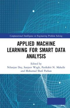 Couverture de l'ouvrage Applied Machine Learning for Smart Data Analysis