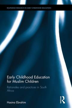 Couverture de l'ouvrage Early Childhood Education for Muslim Children
