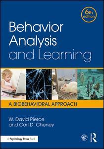 Couverture de l'ouvrage Behavior Analysis and Learning