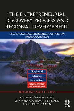 Cover of the book The Entrepreneurial Discovery Process and Regional Development