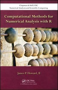 Couverture de l'ouvrage Computational Methods for Numerical Analysis with R