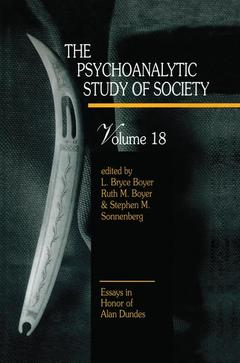 Cover of the book The Psychoanalytic Study of Society, V. 18