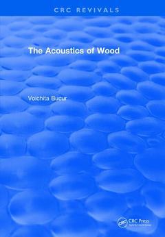 Couverture de l'ouvrage The Acoustics of Wood (1995)