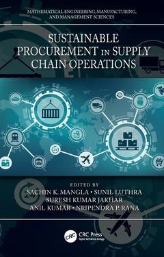 Couverture de l'ouvrage Sustainable Procurement in Supply Chain Operations
