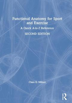 Couverture de l'ouvrage Functional Anatomy for Sport and Exercise