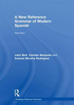 Cover of the book A New Reference Grammar of Modern Spanish