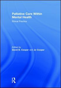 Couverture de l'ouvrage Palliative Care within Mental Health