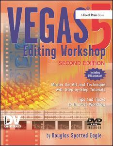 Couverture de l'ouvrage Vegas editing workshop (2nd Ed. with DVD)