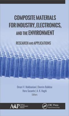 Couverture de l'ouvrage Composite Materials for Industry, Electronics, and the Environment