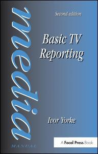 Couverture de l'ouvrage Basic TV reporting, 2nd ed 1997 (paper)