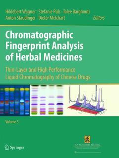 Cover of the book Chromatographic Fingerprint Analysis of Herbal Medicines Volume V