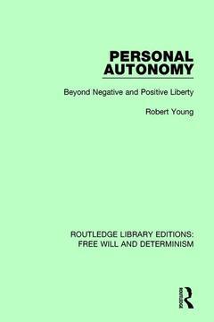 Couverture de l'ouvrage Personal Autonomy