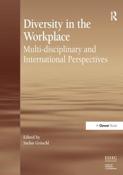 Couverture de l'ouvrage Diversity in the Workplace