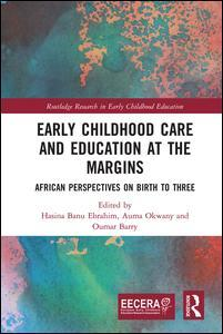 Couverture de l'ouvrage Early Childhood Care and Education at the Margins