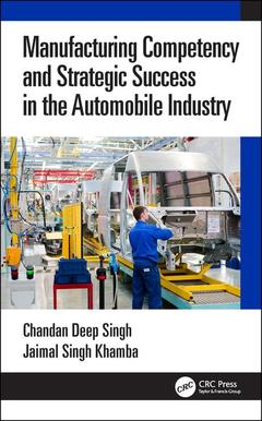 Couverture de l'ouvrage Manufacturing Competency and Strategic Success in the Automobile Industry