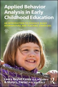 Couverture de l'ouvrage Applied Behavior Analysis in Early Childhood Education