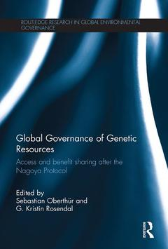 Couverture de l'ouvrage Global Governance of Genetic Resources