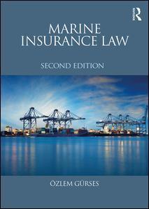 Couverture de l'ouvrage Marine Insurance Law