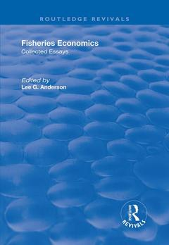 Cover of the book Fisheries Economics, Volumes I and II