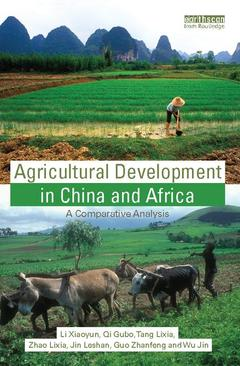 Couverture de l'ouvrage Agricultural development in China and Africa