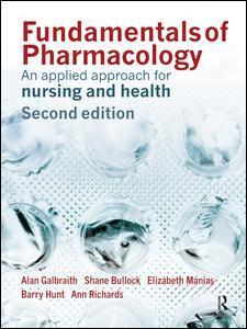 Couverture de l'ouvrage Fundamentals of pharmacology, an applied approach for nursing and health