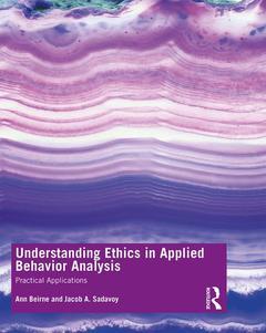 Couverture de l'ouvrage Understanding Ethics in Applied Behavior Analysis